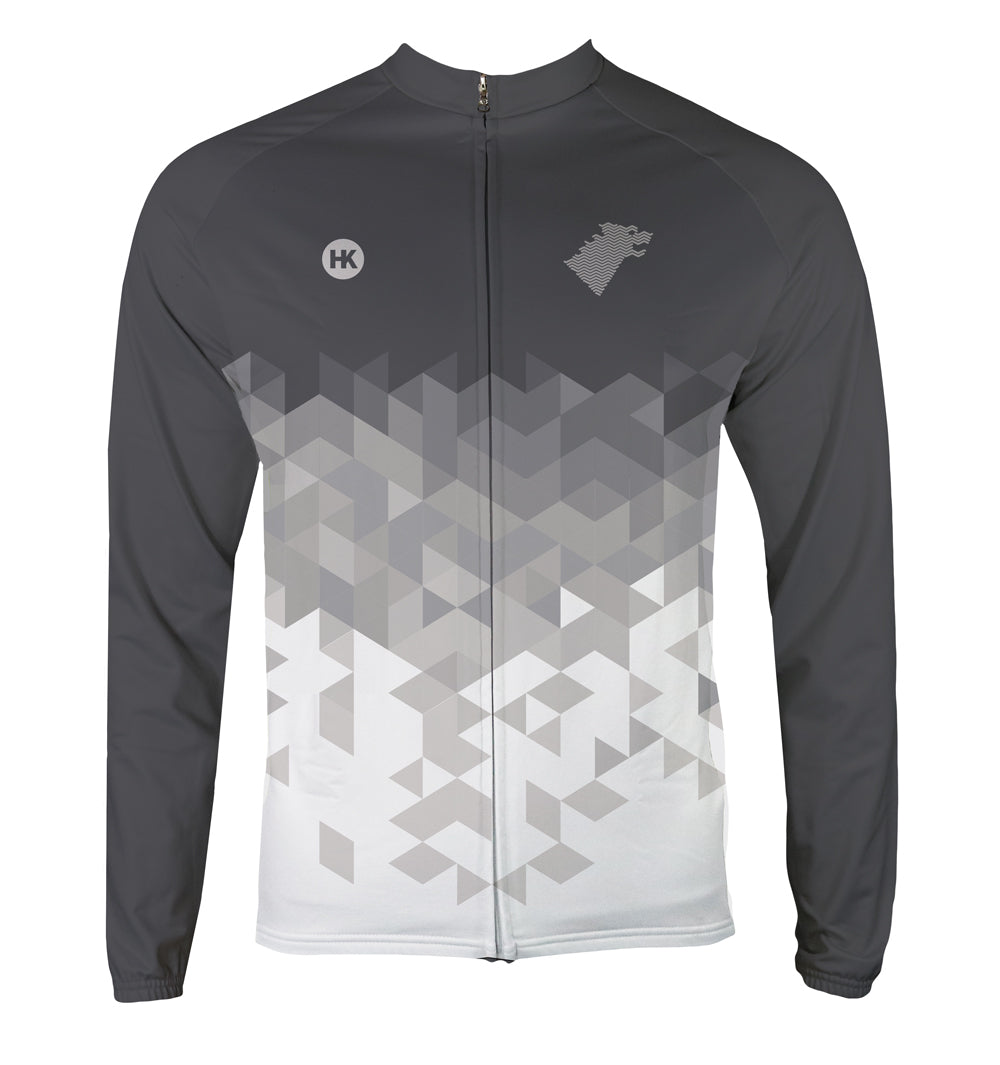 727e1fd7d Direwolf Grey. Men s Thermal-Lined Cycling Jersey