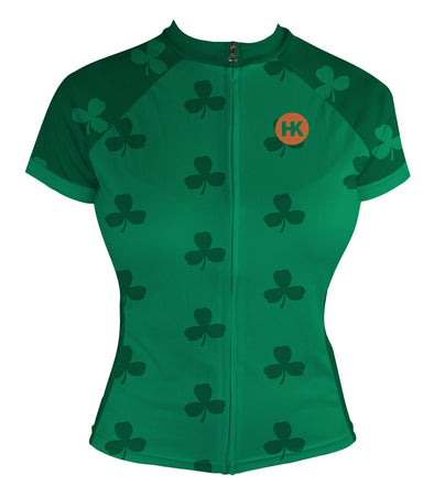 The Shamrock Women's Club-Cut Cycling Jersey by Hill Killer
