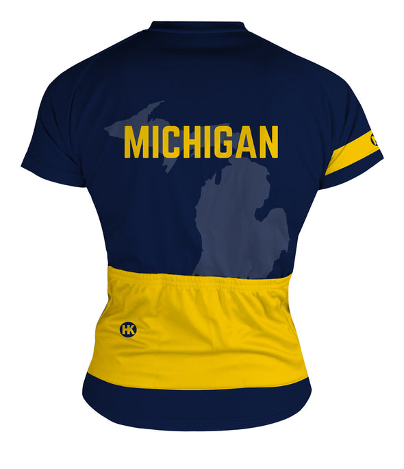 Michigan Women's Club-Cut Cycling Jersey by Hill Killer