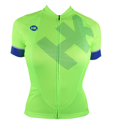 Lit Women's Reflex Tech Slim-Fit Pro Cycling Jersey by Hill Killer