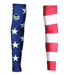 American Flag Cycling/Running Arm Warmers | Hill Killer Apparel