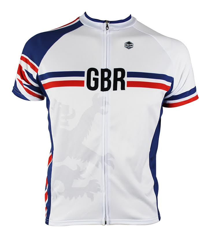Great Britain Men's Cycling Jersey | Hill Killer Apparel