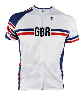 Great Britain Men's Club-Cut Cycling Jersey by Hill Killer