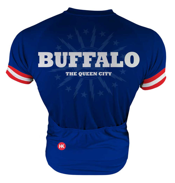 Buffalo Men's Club-Cut Cycling Jersey by Hill Killer