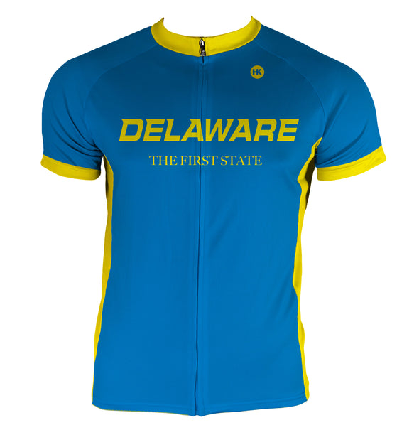 Delaware Men's Club-Cut Cycling Jersey by Hill Killer