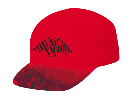 Dragon Red Unisex Cycling Cap by Hill Killer