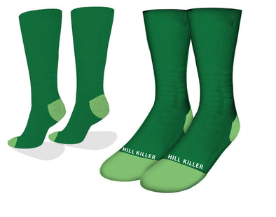 Green Essential Cycling Socks