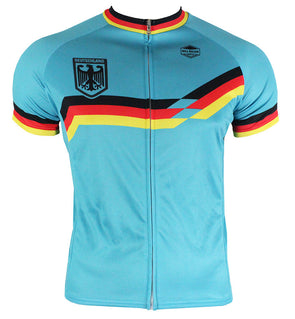 Germany Men's Club-Cut Cycling Jersey by Hill Killer