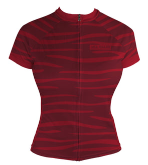 Hellcat Blood Moon Women's Club-Cut Cycling Jersey by Hill Killer