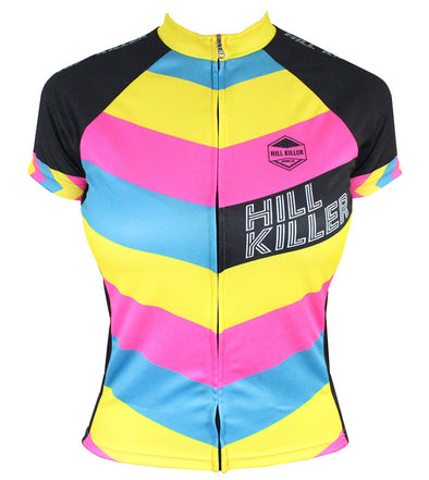 The Unicorn Women's Club-Cut Cycling Jersey by Hill Killer