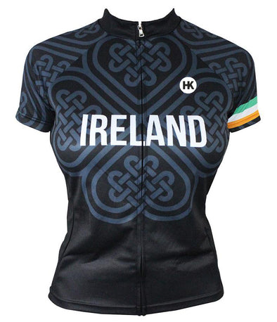 Ireland Women's Club-Cut Cycling Jersey by Hill Killer