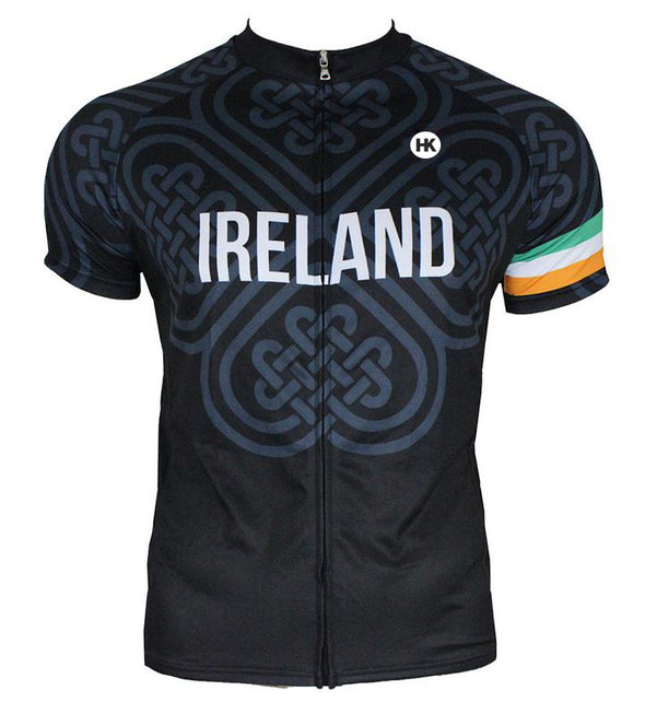 Ireland Men's Club-Cut Cycling Jersey by Hill Killer
