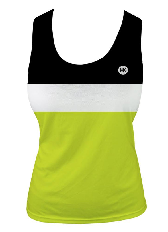 Lightning Bug Women's Crossover Racerback Tank Top by Hill Killer