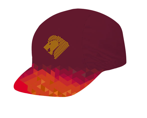 Lion Gold Unisex Cycling Cap by Hill Killer