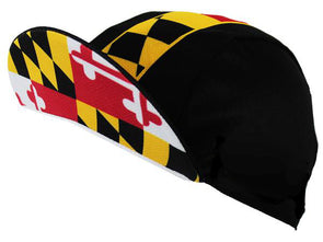 Maryland Unisex Cycling Cap by Hill Killer
