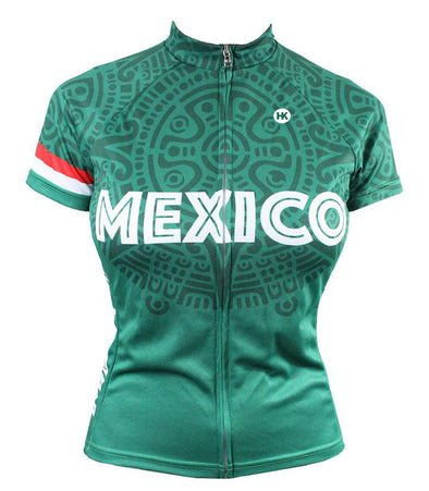 Mexico Women's Club-Cut Cycling Jersey by Hill Killer