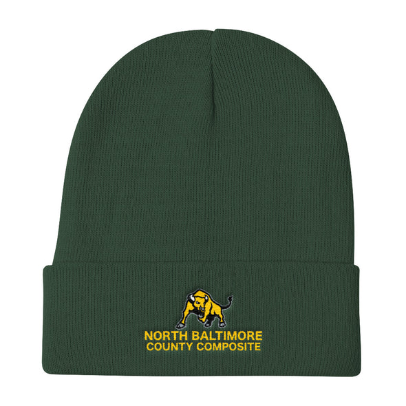 North Baltimore County Composite Knit Beanie Custom Knit Beanie by Hill Killer