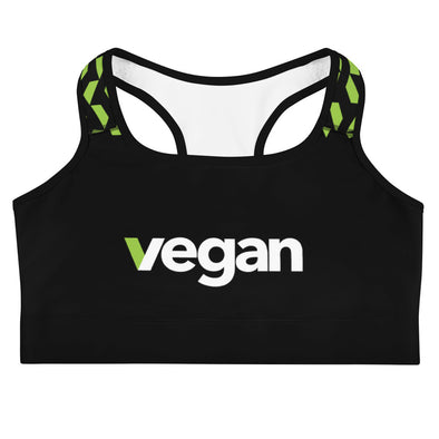 Vegan Sports Bra Women's Sports Bra by Hill Killer