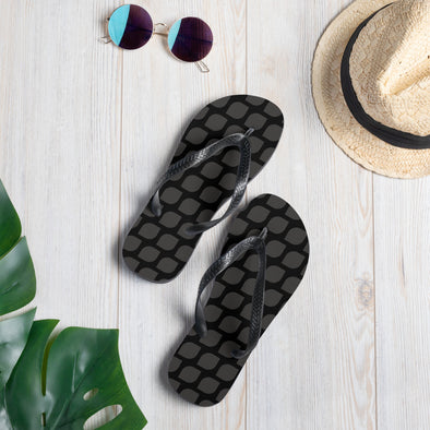 Vegan Seeds Flip-Flops Unisex Flip Flops by Hill Killer