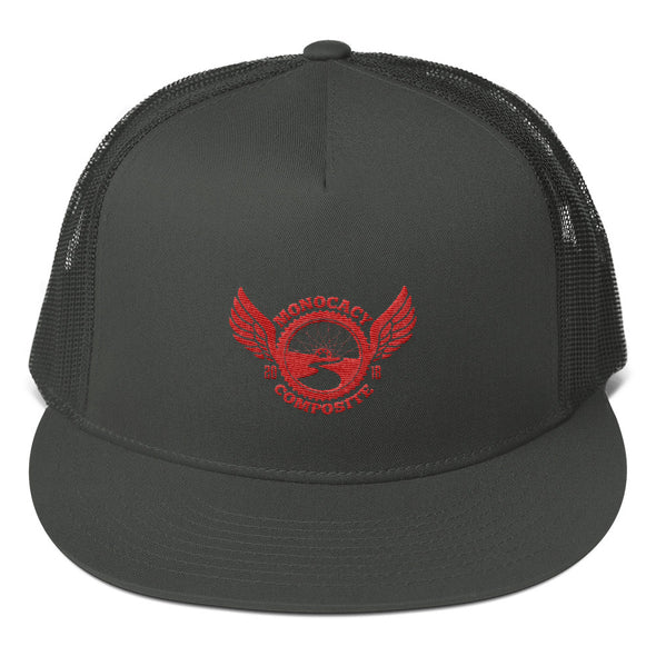 Monocacy Composite Trucker Cap Custom Monocacy Composite by Hill Killer