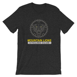 Mountain Lions Short-Sleeve Unisex T-Shirt Custom Mountain Lions by Hill Killer
