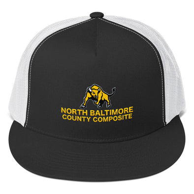 North Baltimore County Composite Trucker Cap Custom Trucker Hat by Hill Killer