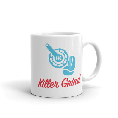 "Killer Grind ""Caffeinate For Good"" Unisex Ceramic Mug by Hill Killer"