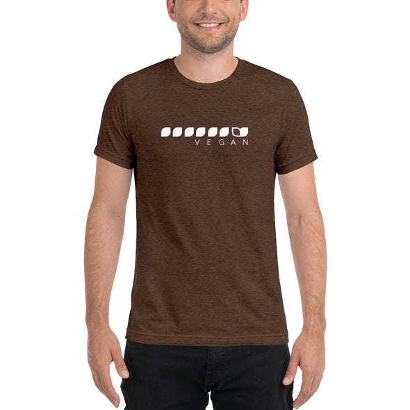 Vegan Seeds Tri Blend t-shirt Men's T-Shirt by Hill Killer