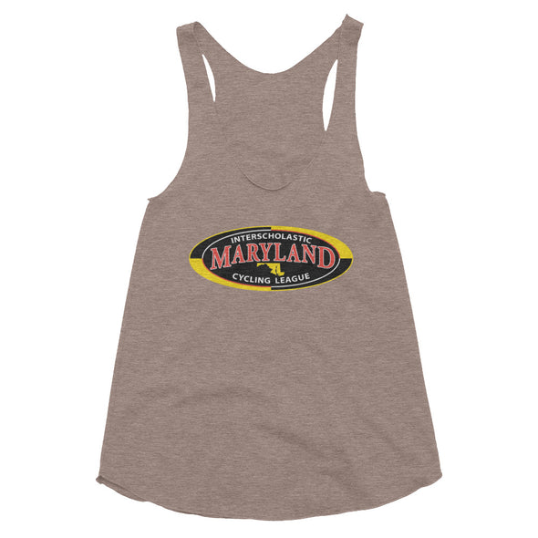 MICL - Women's Tri-Blend Racerback Tank Women's Racerback Tank Top by Hill Killer