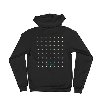 The Voyager Unisex Hooded Sweatshirt by Hill Killer