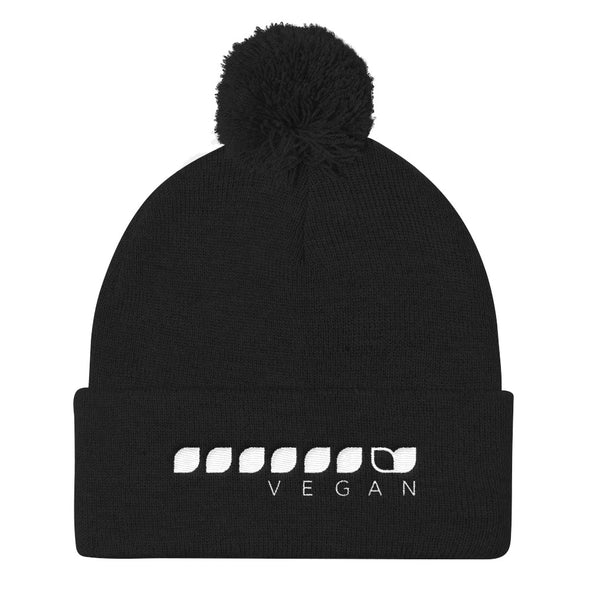 Vegan Seeds Pom Pom Knit Cap