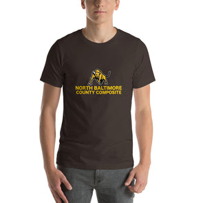 North Baltimore County Composite Short-Sleeve Unisex T-Shirt