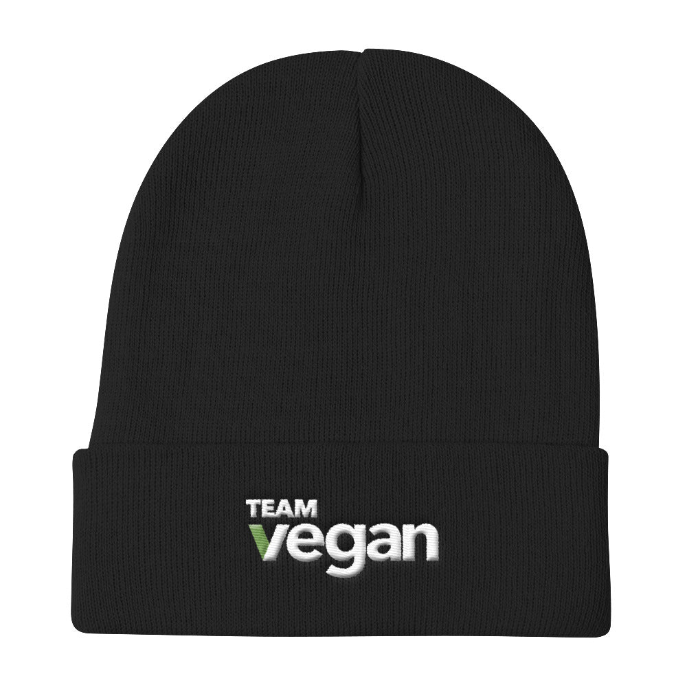 Team Vegan Knit Beanie