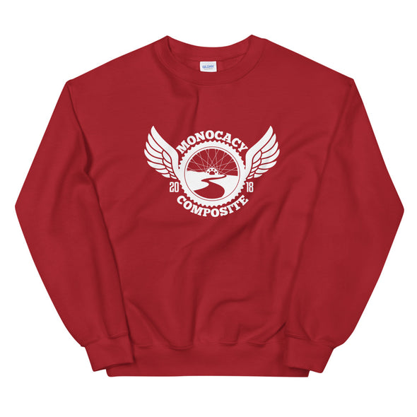 Monocacy Crewneck Sweatshirt Custom Monocacy Composite by Hill Killer