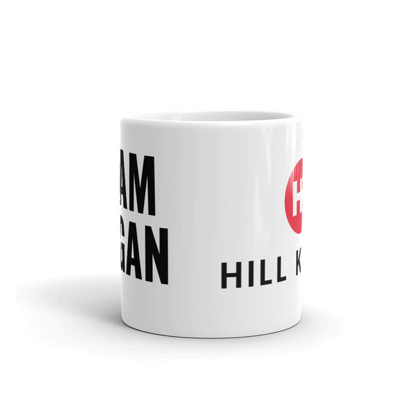 Team Vegan Unisex Ceramic Mug by Hill Killer