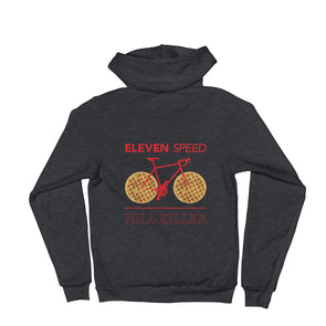 Eleven Speed (Stranger Things-inspired) Unisex Hooded Sweatshirt by Hill Killer