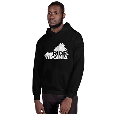 Ride Virginia Unisex Hoodie  Hill Killer by Hill Killer