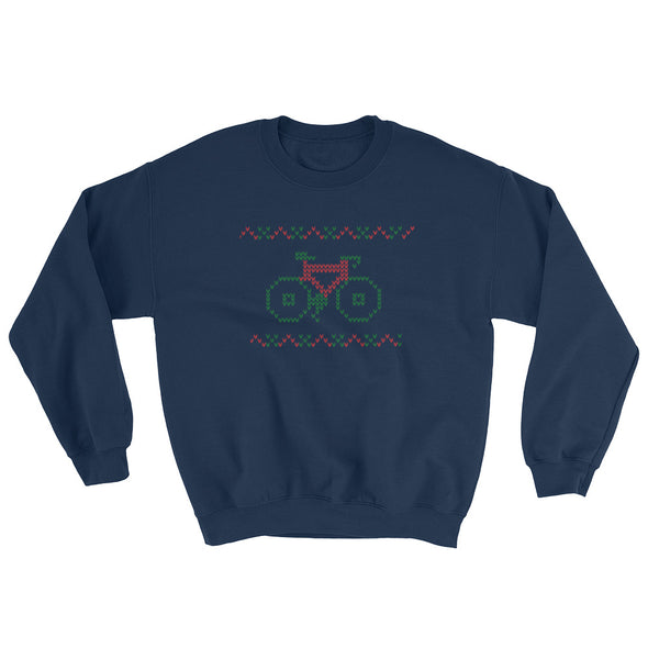 """Not So Ugly"" Christmas Crewneck Unisex Crewneck Sweatshirt by Hill Killer"