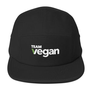 Team Vegan Camper Unisex Camper-Style Hat by Hill Killer