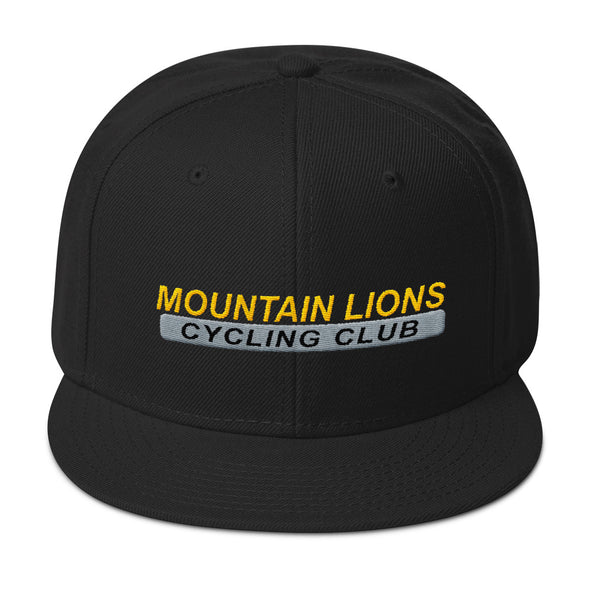 Mountain Lions Snapback Hat Custom Mountain Lions by Hill Killer