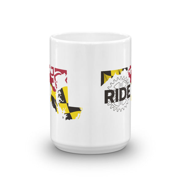 Ride Maryland Mug Unisex Mug by Hill Killer