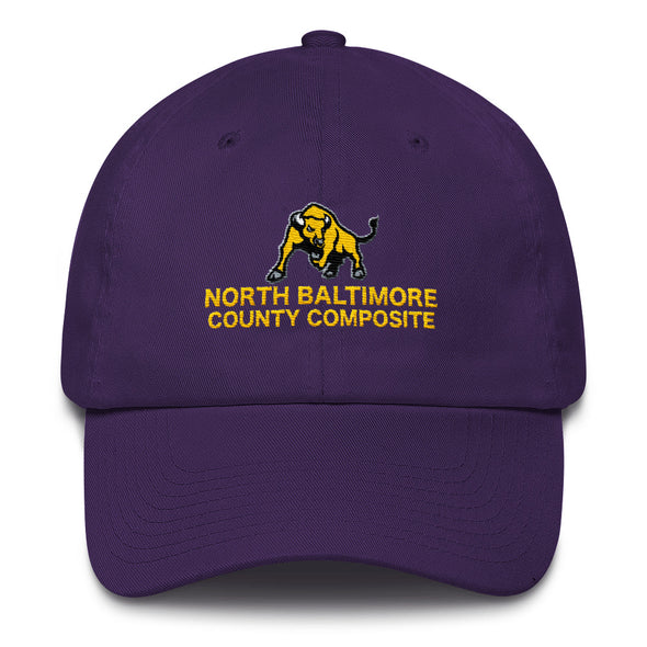 North Baltimore County Composite Cap Custom Dad Hat by Hill Killer