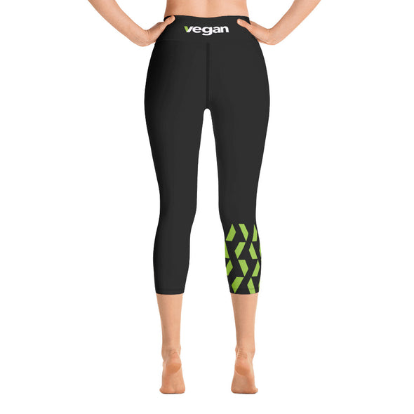 Vegan Yoga Capri Leggings