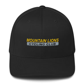 Mountain Lions Structured Twill Cap Custom Mountain Lions by Hill Killer