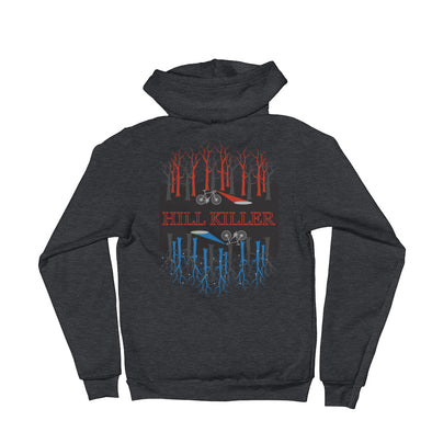 The Upside Down (Stranger Things-Inspired) Unisex Hooded Sweatshirt by Hill Killer