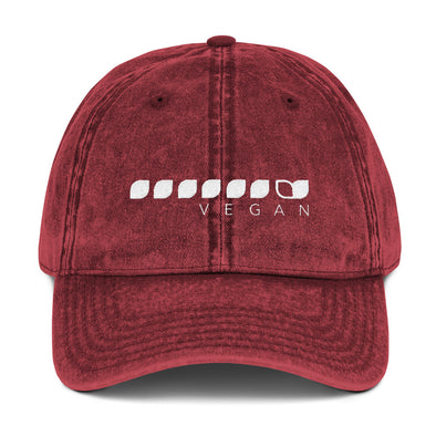 Vegan Seeds Vintage Cotton Twill Cap
