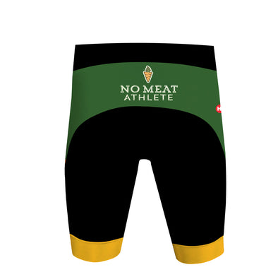 No Meat Athlete Men's Performance Triathlon Shorts by Hill Killer