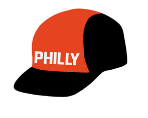 Philly Retro FLY Unisex Cycling Cap by Hill Killer