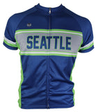 Seattle Retro Men's Cycling Jersey | Hill Killer Apparel