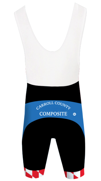 Carroll County Composite Cycling Bibs/Shorts Custom Hill Killer by Hill Killer